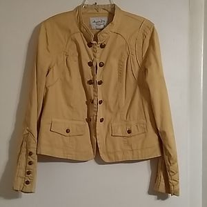 American Rag Gold Jacket